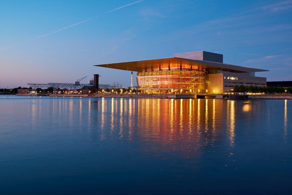 Royal Opera House  w nocy